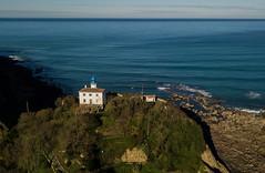 Faro de Zumaia (Mikhail Serbin) Tags: lighthouse faro farol маяк dji drone ocean basque cotedebasque mavic mavicpro aerialphotography aerial