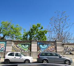 olhos no muro (Américo Meira) Tags: portugal lisboa arteurbana grafitti