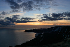 Christmas Eve Sunset Over Folkestone (BeerAndLoathing) Tags: 2018 december folkestone englandtrip england sunset uktrip whitecliffs canon kent sea 77d trip winter sky uk winter2018 capel englishchannel canoneos77d sigma18300mm