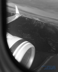 Going Feet Wet in Black & White (AvgeekJoe) Tags: 737990 737990erwl aerialphotograph alaska114 alaskaair alaskaairlines alaskaflight114 bw blackwhite blackandwhite boeing737 boeing737900 boeing737990 boeing737990erwl d5300 dslr jetliners n423as nikon nikond5300 aerial aerialphoto aerialphotography aircraft airplane aviation jetliner plane