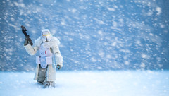 Range trooper (gstening) Tags: wars toys black series canon canonm5 m5 starwars backseries 35mm fixed primelens prime snow cold winter sci fi scifi armor helmet freezeing freeze ice blue white alone toy action figure actionfigure solo rangetrooper samyang3512edasumccs samyang astarwarsstory star