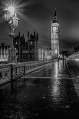 Time waits for no man (tolle13) Tags: london bigben parliament mono bw westminster bridge