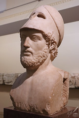 Happiness depends on being free and Freedom depends on being courageous—Pericles (ioannis_papachristos) Tags: pericles perikles greece greek hellenic athens attic classical goldenage ageofpericles statesman leader citizen politician orator general soldier britishmuseum thebritishmuseum britishmuseumlondon bust sculpture statue copy roman helmet persianwar peloponnesianwar warrior democracy delianleague ruler ancient archaeology archeology history thucydides funeraloration legacy alliance eloquence canon eosm50 mirrorless papachristos london uk quote freedom happiness courageous indoors lowlight highiso culture civilisation art 5thcenturybc travel cityscape museum