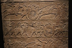 Assyrian Army (calmeilles) Tags: london england unitedkingdom ashurbanipal britishmuseum assyria ancienthistory archaeology middleeast nineveh