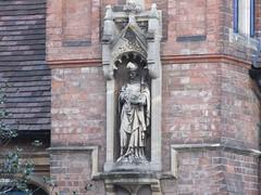 Gerrard Street, Warwick, Warwickshire (LookaroundAnne) Tags: gwuk figure stnicholas saintnicholas church rooms sunday school warwick warks warwickshire