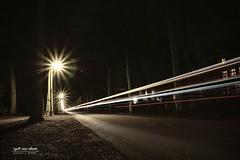 Lichtspuren (Light and shade by Monika) Tags: münster promenademünster lightpainting langzeitbelichtung