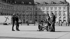DSCF2084 (LexomIA) Tags: bordeaux street urbain bw nb streetphotography