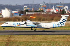 G-ECOC_02 (GH@BHD) Tags: gecoc bombardier dehavilland dhc dhc8 dhc8402q dasheight be bee flybe turboprop aircraft aviation bhd egac belfastcityairport