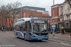 The future of Oxford Road (Mike McNiven) Tags: oxfordroad alexanderdennis byd china electric ev enviro200 mmc sharston stagecoach manchester eco ecofriendly electricbus demo demonstrator demonstration loan new rare special