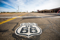 Route US 66 (Thomas Hawk) Tags: adrian america midpointcafe midpoint route66 texas usa unitedstates unitedstatesofamerica us fav10 fav25 fav50 fav100