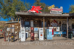 Hackberry General Store along Historic Route 66 in Arizona (Lee Rentz) Tags: america arizona dustbowl getyourkicksonroute66 hackberry hackberrygeneralstore historicroute66 mainstreetofamerica northamerica route99 steinbeck thegrapesofwrath usroute66 us66 willrogershighway americanwest americana antique artifacts fun gaspumps gasstation goodtimes highway historic history horizontal icon iconic memorabilia memories memory nationalscenicbyway nostalgia nostalgic old past road roadtrip route sentiment sentimental shop signs store themotherroad thewest time transportation usa