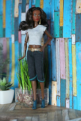 valentina in gucci jeans (photos4dreams) Tags: barbie mattel doll toy diorama photos4dreams p4d photos4dreamz barbies girl play fashion fashionistas outfit kleider mode puppenstube tabletopphotography aa beauties beautiful girls women ladies damen weiblich female funky afroamerican schnitt hair haare darkskin africanamerican puppe canoneos5dmark3 canoneos5dmarkiii spielzeug collectorsbarbie collector red dress gown bodice christmasbarbie2017 holidaybarbie2017 ©photos4dreams custom portrait valentina roteskleid deboxed