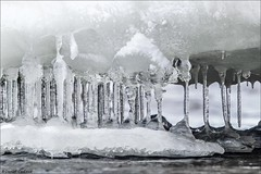 Winter's Parthenon (Daniel Cadieux) Tags: ice winter cold icicles columns parthenon icy ottawa ottawariver