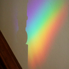rainbow (wmpe2000) Tags: 2018 ct summer momshouse parentshouse rainbow crystals img2467a