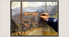 COLECCION-PINTURA-COLÒNIA VIDAL-ARTE-COLÒNIES-TEXTIL-LLOBREGAT-ART-CATALUNYA-FOTOS-PINTANDO-CUADROS-PAISAJES-ANTIGUAS-FABRICAS-PINTOR-ERNEST DESCALS (Ernest Descals) Tags: calvidal colònies colònia pintar pintando colonias industrials industriales industry berguedà puigreig barcelona catalunya catalonia cataluña paisatge paisatges entrada chimeneas fabrica fabricas fabriques textil textils textiles historia industria history antigues antiguas ancient riu rio llobregat ruta historicos paisaje paisajes historiques landscape landscaping artwork art arte fotos montañas paint pictures pintant coleccion col·lecciò plastica investigacion paisajistas paisatgistes pintura painter painters pintures cuadros quadres pinturas puerta panoramica pintors pintores pintor ernestdescals painting paintings artistes artistas plasticos pintadas vida