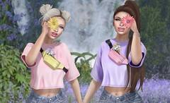 #447 - Flower child (Violet Batriani | Blogger | Model) Tags: secondlife fashion blog blogger bento catya maitreya friends cute daisy