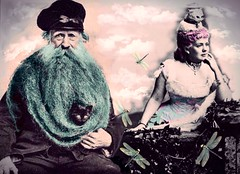 '...Puss Warmers!' (tishabiba) Tags: montage beard digitalart illusion conceptional perception artphoto artwork surrealism surreale surreal tish digitalmania