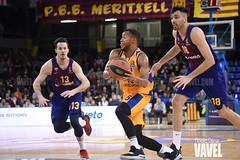 DSC_0221 (VAVEL España (www.vavel.com)) Tags: fcb barcelona barça basket baloncesto canasta palau blaugrana euroliga granca amarillo azulgrana canarias culé