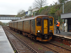 150233 Liskeard (Marky7890) Tags: gwr 150233 2p92 class150 sprinter liskeard cornishmainline railway cornwall train