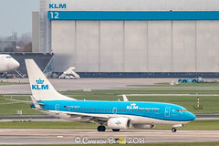 "KLM PH-BGD B737-700 (IMG_2452) (Cameron Burns) Tags: klm kl phbgd goudhaantje goldcrest boeing boeing737 boeing737700 b737 b737700 dub dublin republic ireland republicofireland blue white royal amsterdam schiphol airport amsterdamschipholairport ""amsterdam schiphol"" ams eham airfield aviation aerospace airliner aeroplane aircraft airplane plane canoneos80d canoneos eos80d canon80d canon eos 80d netherlands holland dutch haarlemmermeer ""luchthaven luchthaven europe action"