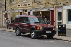 Discovery TD5 (Sam Tait) Tags: hebden bridge land rover discovery 4x4 td5 turbo diesel 25 2500 2001 red maroon