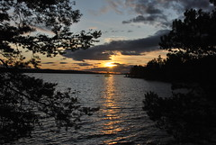 DSC_0454 (MSchmitze87) Tags: schweden sweden dalsland kanu canoeing see lake sunset