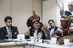 Reunião de lideranças indígenas com ministro da saúde •  28/03/2019 • Brasília (DF) (midianinja) Tags: saúde indígena ministro sesai mandetta apib brasil mídia ninja midianinja