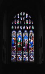 Stained Glass Window IX (Dr Nigel) Tags: england yorkshire northyorkshire richmond samsung nx11 mirrorless church stmary stmaryschurch window stained glass stainedglasswindow