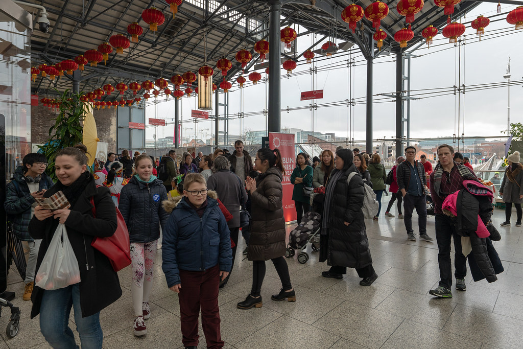 YEAR OF THE PIG - LUNAR NEW YEAR CELEBRATION AT THE CHQ IN DUBLIN [OFTEN REFERRED TO AS CHINESE NEW YEAR]-148958