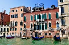 Along the canal...Venice, Italy (stevelamb007) Tags: veneto italia colorful venice italy boats gondolas architecture canal d90 nikon stevelamb