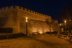 DSC_3961 (miguelmoll387) Tags: wall muralla muro night noche luces light lamps farolas castillo castle medieval nikon nikond7100 sigma sigma1770