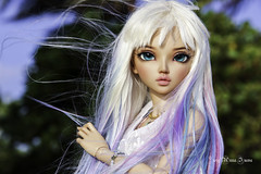 Maldivian Mermaid (AnnaZu) Tags: annazu annaku vesnushkahandmade chloe mermaid meldives maldivian tail fin ears head parts bra dragon scales fairyland fairyline fins turquose mythic romantic doll tan minifee abjd bjd balljointed