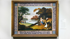 Hicks, The Peaceable Kingdom (profzucker) Tags: peaceablekingdom edwardhicks hicks pennsylvania williampenn folkart quaker friends walkingtreaty arthistory pma philadelphiamuseumofart philadelphia isiah penn lion lamb nativeamerican colonists engish colonial 1826 19th century americanart american seeingamerica