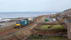 House Cat (Richie B.) Tags: 6z98 parton cumbria drs direct rail services vossloh stadler caterpillar class 68 68033 kua