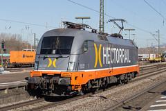 HectorRail 242 532 Weil am Rhein (daveymills37886) Tags: hectorrail 242 532 weil am rhein baureihe siemens taurus es64u2 182