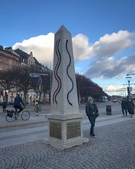 Climate change sculpture and Ant (breakbeat) Tags: ifttt sweden travel climate change sculpture public city concrete cyclist