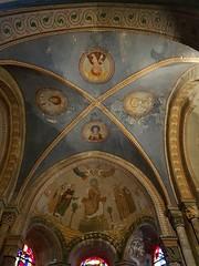 Blois, Loir-et-Cher: église Saint Nicolas, voûte de la chapelle Saint-Laumer (Marie-Hélène Cingal) Tags: baznīca église kirik iglesia church chiesa bažnyčia kirche kostol eliza bloie 41 loiretcher france centre