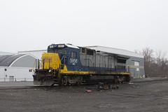 MEC 5956 (imartin92) Tags: plainville connecticut panam railways ge generalelectric b408 dash8 locomotive freight train snow winter