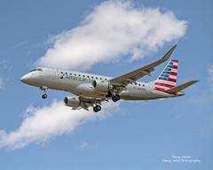 American Eagle N266NN 2018 Embraer SA ERJ-175LR C/N 17000770 (Hawg Wild Photography) Tags: terry green hawg wild photography nikon d850 sigma 150600mm contemporary aviation american eagle n266nn 2018 embraer sa erj175lr cn 17000770 airlines