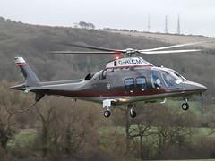 G-HLCM Leonardo Spa AW109SP Helicopter (Apollo Air Services Ltd) (Aircaft @ Gloucestershire Airport By James) Tags: cheltenham helipad ghlcm leonardo spa aw109sp helicopter apollo air services ltd egbc james lloyds