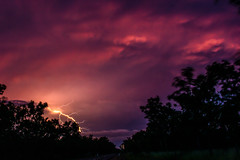 Stormcloud @ Sunset (Markus Branse) Tags: australia sunset abend evening tropen abendrot rot rood red roughe night sun sonnenuntergang sol wolken wetter weather territory northern australien aussie oz australie austral cloud clouds cloudy himmel heaven sky idylle thunderhead gewitter baum gras landstrase landschaft
