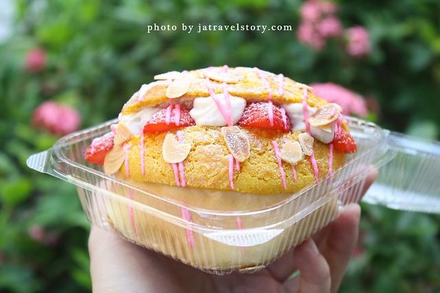 楓茶記 起司控必吃超牽絲芝心菠蘿,還有季節限定草莓菠蘿唷!【捷運忠孝復興】東區美食/東區小吃/台北楓茶記 @J&A的旅行