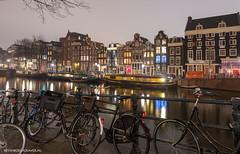 Amsterdam Singel op 30 december 2018