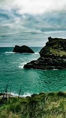 New Year New Dreams (Di-Di Paget :)) Tags: coast cornwall boscastle water seascape cliffs