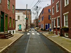 Center City Streets (Wittwering) Tags: perspective intersection brick streets city cityscape philly philadelphia