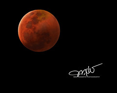 Wolf Moon (Mike Woodfin) Tags: mikewoodfin mikewoodfinphotography photo picture photography photograph photos photoshop pretty nikon nature canon contrast color cool creepy moon lunar eclipse phase art awesome fuji florida fl