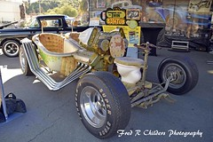 The Twin Bathtub Car (F R Childers Photography) Tags: carshows customcarshows hotrods the70thannualgrandnationalroadstershow grandnationalroadstershow ambr the70thgrandnationalroadstershow roadsters roadstershow gnrs californiacarshow hotrodcarshow customcars classiccars car fredrchildersphotography nikoncamera