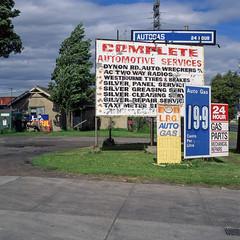 West Melbourne (Westographer) Tags: westmelbourne melbourne australia westernsuburbs signs signage typography weathered patina film fujivelvia transparency mediumformat square