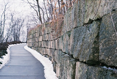 Stone Cold (Au_cent3) Tags: superia fuji fm2n fm2 winter 35mm film nikon analogue filmisnotdead filmphotography
