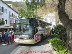 "2018 030718 VOLVO SUNSUNDEGUI ASTRAL  BUS AVANZA PORTILLO BUS 5738 0567 GHB ROUTE  M122 MIJAS TO FUENGIROLA IN MIJAS (Andrew Reynolds transport view) Tags: europe spain andalucia transport bus coach transit passenger omnibus diesel ""mass transit"" 2018 030718 volvo sunsundegui astral avanza portillo 5738 0567 ghb route m122 mijas to fuengirola in"